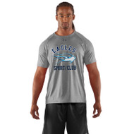 SMC Under Armour Men's Game Short Sleeves Locker T-Shirt - Grey (SMC-003-GY)