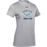 SMC Under Armour Women's Short Sleeve Locker 2.0 Tee - Grey (SMC-007-GY)