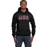 SFA Champion Adult Double Dry Eco Pullover Hood Design B - Black (SFA-012-BK)