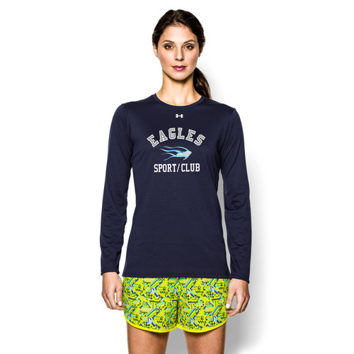 SMC Under Armour Longsleeve Women's Locker T - Navy (SMC-020-NY)