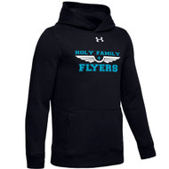 HFE Under Armour Youth Hustle Fleece - Black (HFE-302-BK)