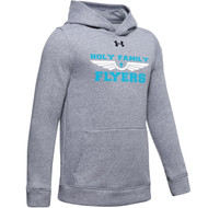 HFE Under Armour Youth Hustle Fleece - True Grey (HFE-302-TG)