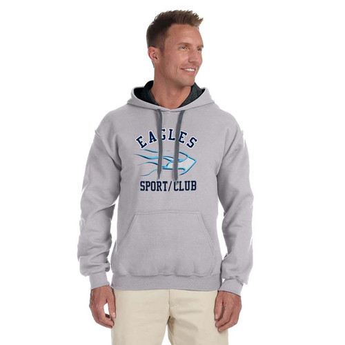 SMC Kitchener Gildan Heavy Blend Pullover Hood - Grey (SMC-012-SG)