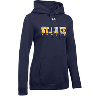 SLU Under Armour Women's Hustle Hoody - Navy (SLU-203-NY)