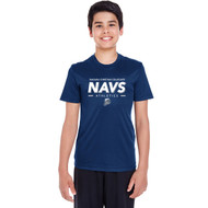 NCC Team 365 Youth Zone Performance T-Shirt (Staff) - Navy (NCC-307-NY)