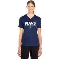 NCC Team 365 Women's Zone Performance T-Shirt (Staff) - Navy (NCC-207-NY)