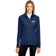 NCC Team 365 Women's Zone Performance Quarter-Zip - Sport Dark Navy (NCC-212-NY)