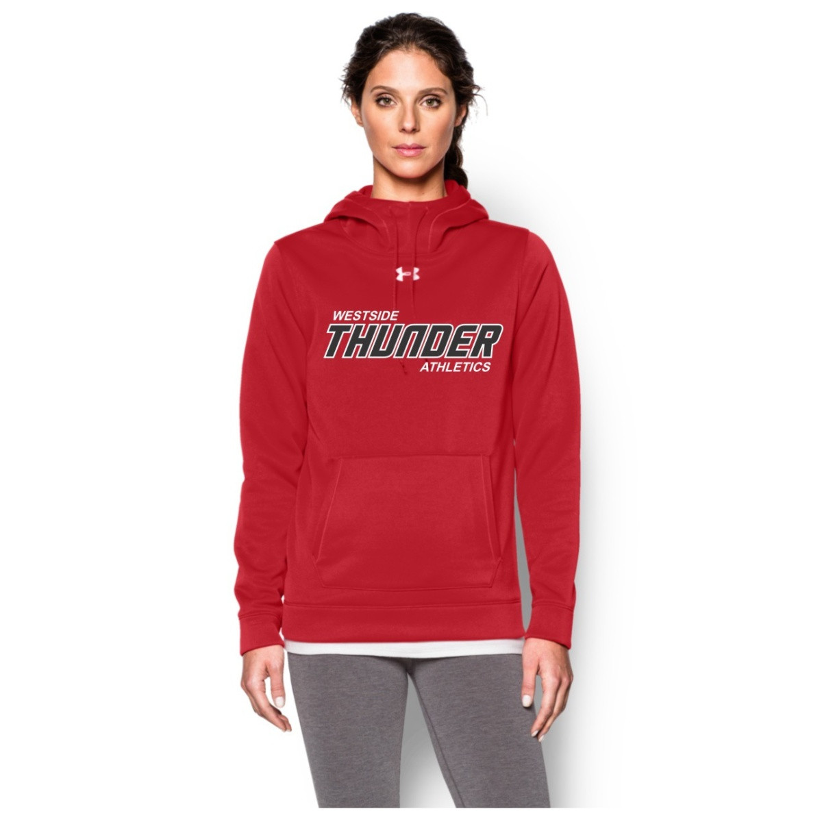 34daba36c Feather Hill Under Armour Ladies Storm Fleece Team Hoodie - Red (TPS-008-