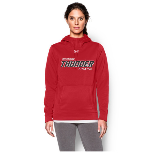 Feather Hill Under Armour Ladies Storm Fleece Team Hoodie - Red (TPS-008-RE)