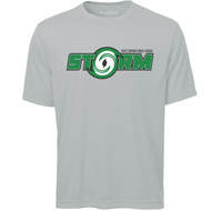 SCP ATC Adult Pro Team Short Sleeve Tee - Silver (SCP-001-SI)