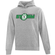 SCP ATC Adult Everyday Fleece Hooded Sweatshirt - Athletic Heather (SCP-003-AH)