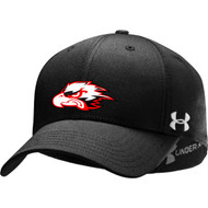 Feather Hill Under Armour PTH Team Stretch Fit Cap - Black
