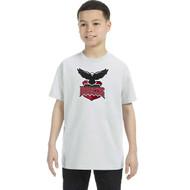 JRP Gildan Youth Heavy Cotton T-Shirt - Ash (JRP-301-AS)
