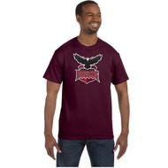 JRP Gildan Adult Heavy Cotton T-Shirt - Maroon (JRP-001-MA)