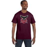 JRP Gildan Adult Heavy Cotton T-Shirt (Staff) - Maroon (JRP-005-MA)