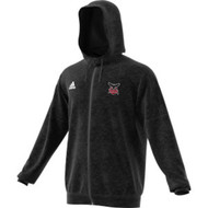 JRP Adidas Men's Full Zip Team Hoodie (Staff) - Black (JRP-110-BK)