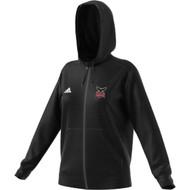 JRP Adidas Women's Full Zip Team Hoodie - Black (JRP-210-BK)
