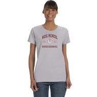 NMC Gildan Heavy Cotton Ladies T-shirt (Staff) - Sport Grey (NMC-202-SG)