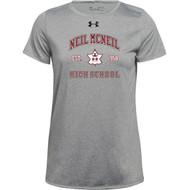 NMC Under Armour Ladies Locker 2.0 T-shirt (Staff) - True Grey (NMC-204-TG)