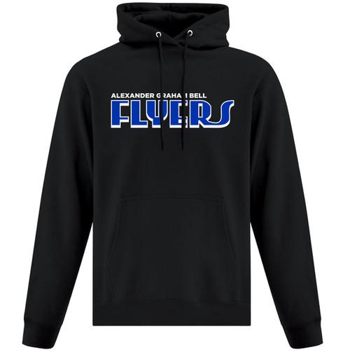 AGB ATC Adult Everyday Fleece Hooded Sweatshirt - Black (AGB-004-BK)
