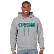 CVE Gildan Adult Heavy Blend Hooded Sweatshirt Design B - Sport Grey (CVE-007-SG)