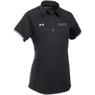 SML Under Armour Women's Rival Polo - Black (SML-204-BK)
