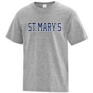 SML ATC Youth Everyday Cotton Tee - Athletic Heather (SML-305-AH)