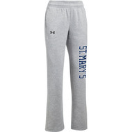 SML Under Armour Women's Hustle Fleece Pant - True Grey (SML-203-TG)