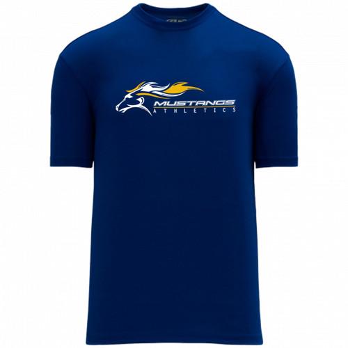 SMK Apparel Men's Short Sleeve Shirts - Royal (SMK-120-RO)