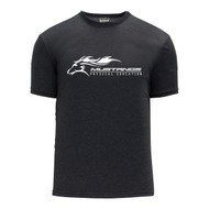 SMK Apparel Men's Short Sleeve Shirts - Charcoal Heather (SMK-120-CH)