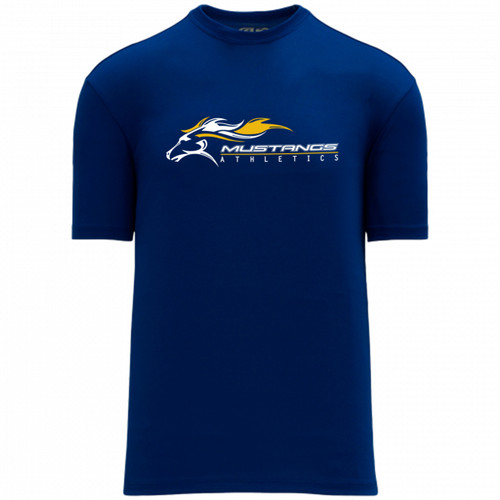 SMK Apparel Women's Short Sleeve Shirts - Royal (SMK-220-RO)