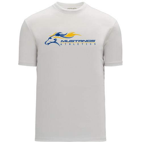 SMK Apparel Women's Short Sleeve Shirts - White (SMK-220-WH)
