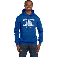 VDS Champion Men's Powerblend EcoSmart Pullover Hoodie - Royal (VDS-109-RO)
