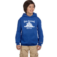 VDS Champion Youth Powerblend EcoSmart Pullover Hoodie - Royal (VDS-309-RO)