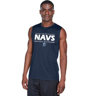 NCC Team 365 Men's Zone Performance Muscle T-Shirt - Sport Dark Navy. (NCC-115-NY)