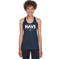 NCC Team 365 Ladies Zone Performance Racerback Tank - Sport Dark Navy. (NCC-215-NY)