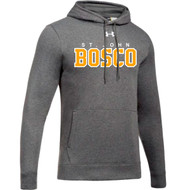 JBC Under Armour Men's Hustle Fleece Hoodie - Graphite (JBC-103-GP)