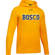 JBC Under Armour Men's Hustle Fleece Hoodie - Steeltown Gold (JBC-103-GO)