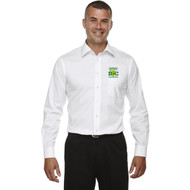 DCS Devon & Jones Men's Crown Woven Collection Solid Stretch Twill - White (DCS-101-WH)