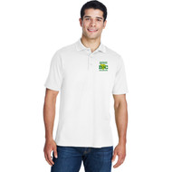 DCS Core 365 Men's Origin Performance Piqué Polo - White (DCS-102-WH)