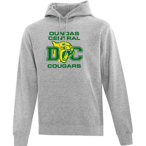 ATC Everyday Men's Fleece Hooded Sweatshirt - Athletic Heather (DCS-104-AH)