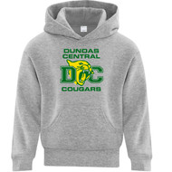 ATC Everyday Youth Fleece Hooded Sweatshirt - Athletic Heather (DCS-304-AH)