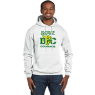 DCS Champion Men's Double Dry Eco Pullover Hoodie - White (DCS-108-WH)