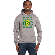 DCS Champion Men's Double Dry Eco Pullover Hoodie - Light Steel (DCS-108-LS)
