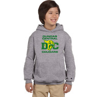 DCS Champion Youth Double Dry Eco Pullover Hoodie - Light Steel (DCS-308-LS)
