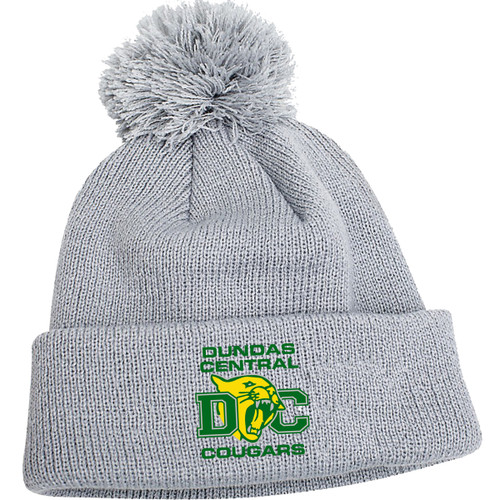 DCS New Era Pom Pom Toque - Grey (DCS-051-GY.SN-NE901-GRE-OS)