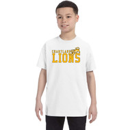 CJS Gildan Youth Heavy Cotton T-Shirt - White (CJS-301-WH)