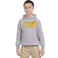 CJS Gildan Youth Heavy Blend Hoodie - Sport Grey (CJS-303-SG)
