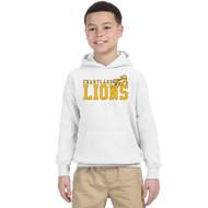 CJS Gildan Youth Heavy Blend Hoodie - White (CJS-303-WH)