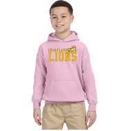 CJS Gildan Youth Heavy Blend Hoodie - Light Pink (CJS-303-LP)